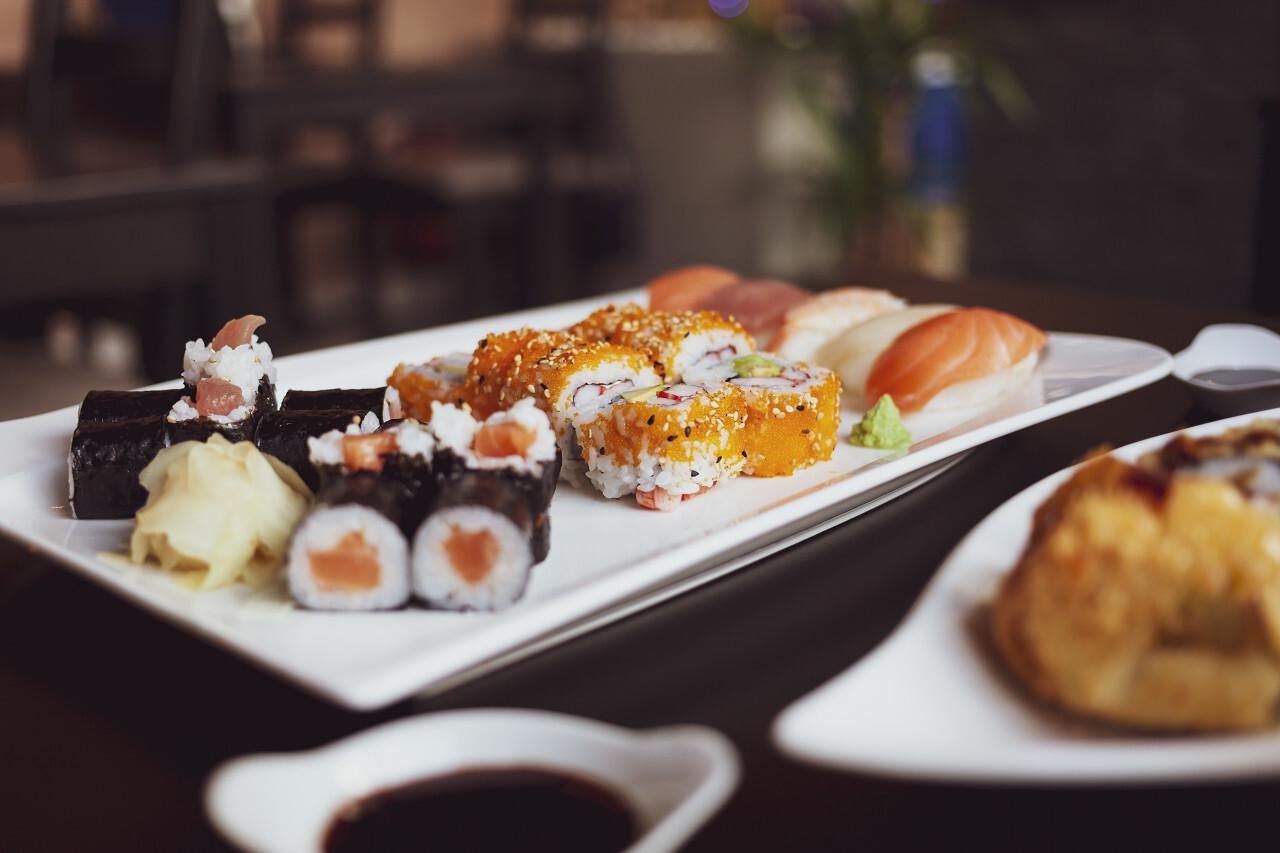 sushi mix plate