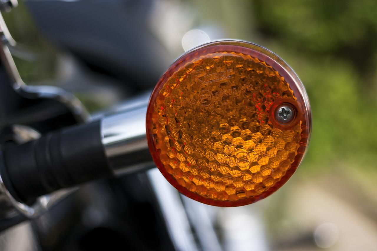 motorbike turn signal
