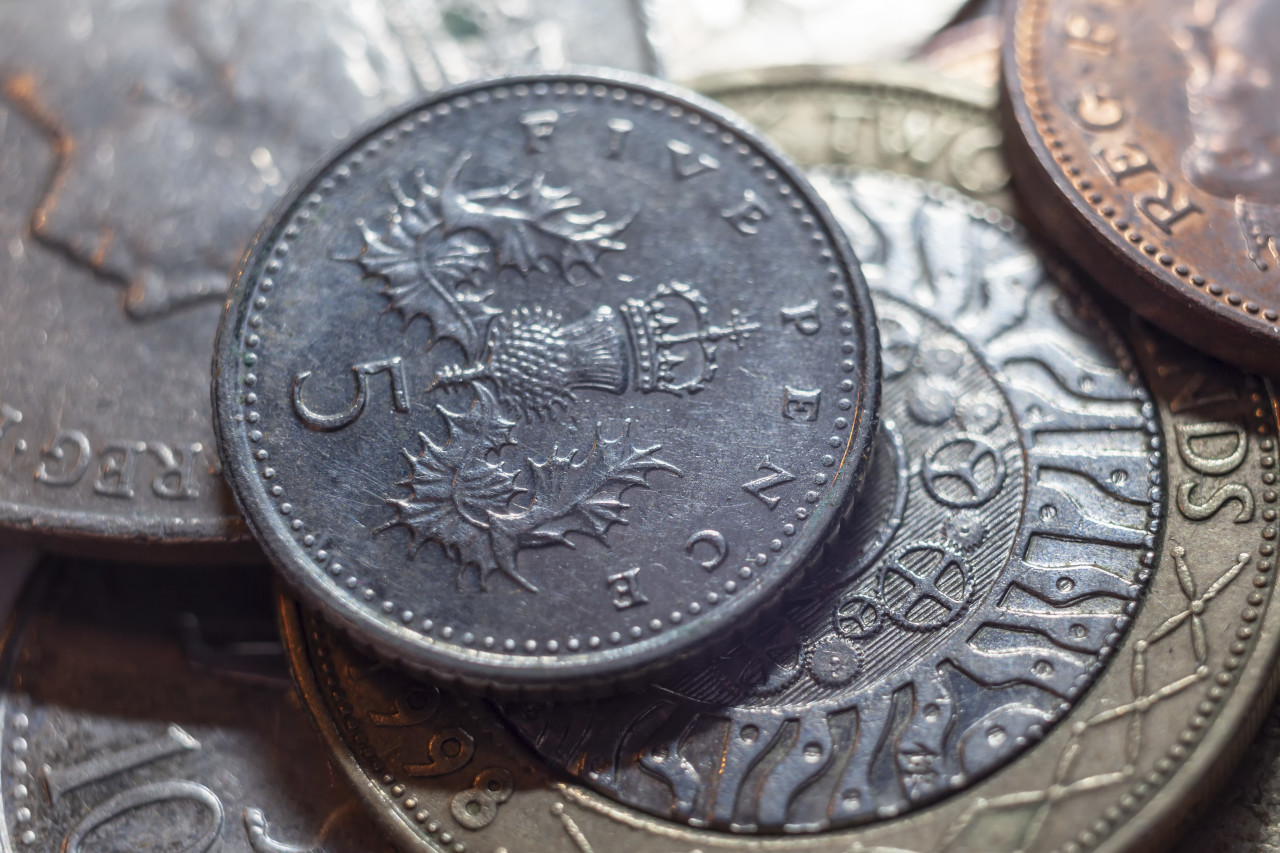 United Kingdom England Pound Background