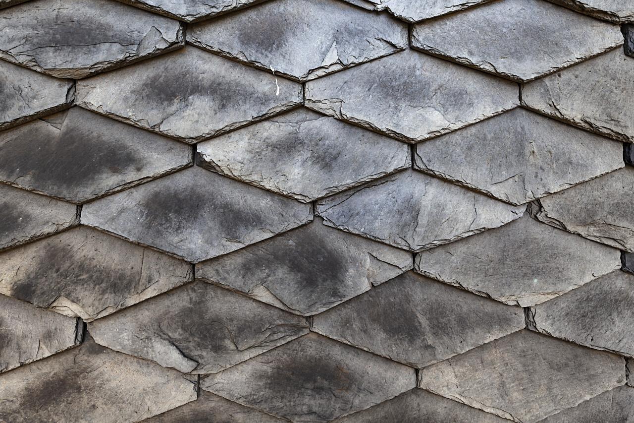 slate stone wall texture background