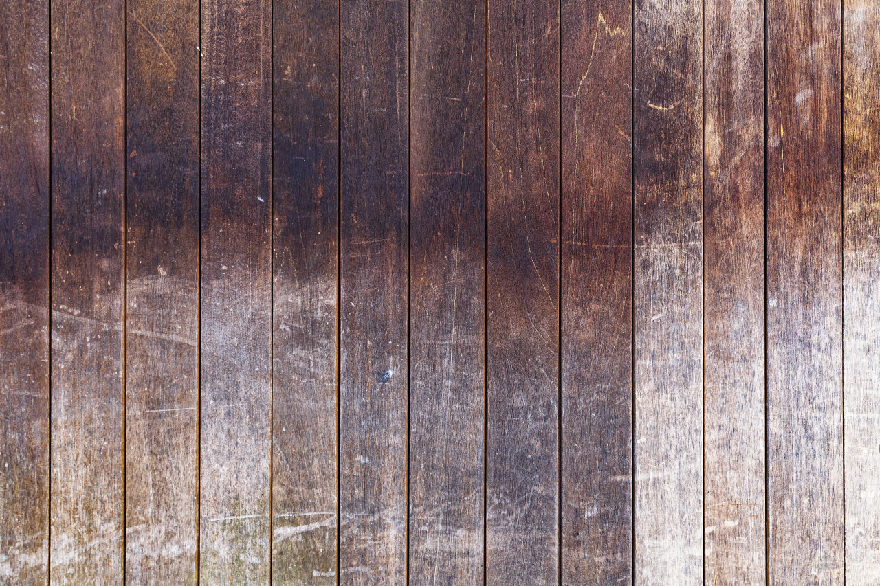 Brown wooden background - wood plank texture
