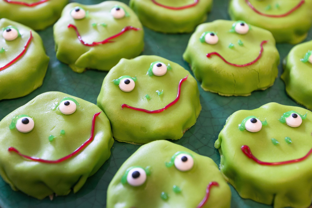 Mini Baby Cakes Frogs