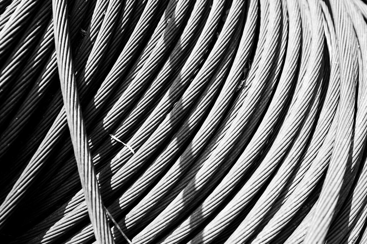 steel wire reel