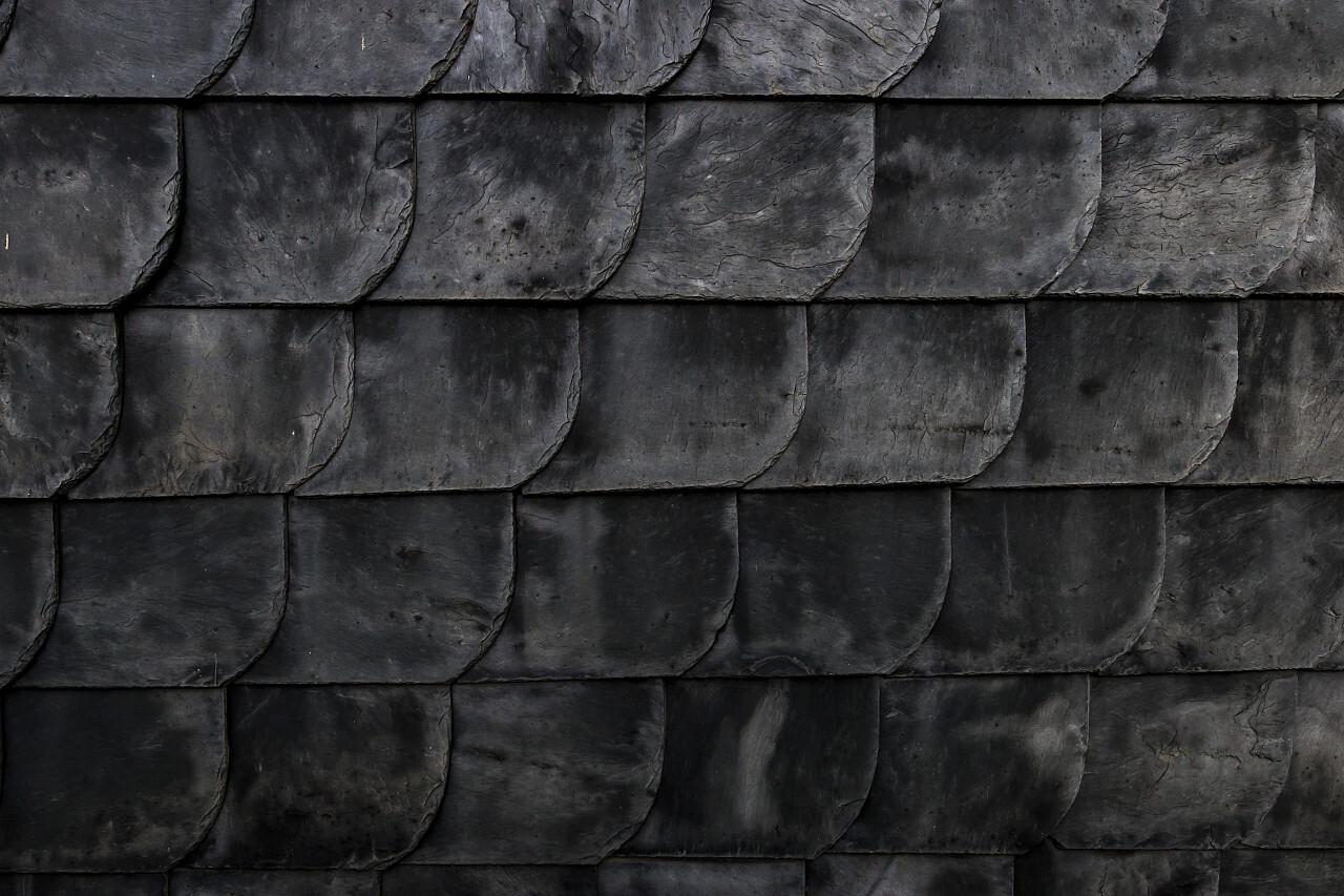 slate house wall texture