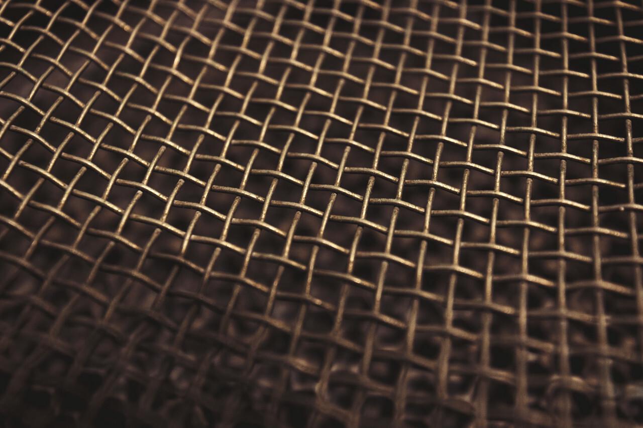 metal net texture