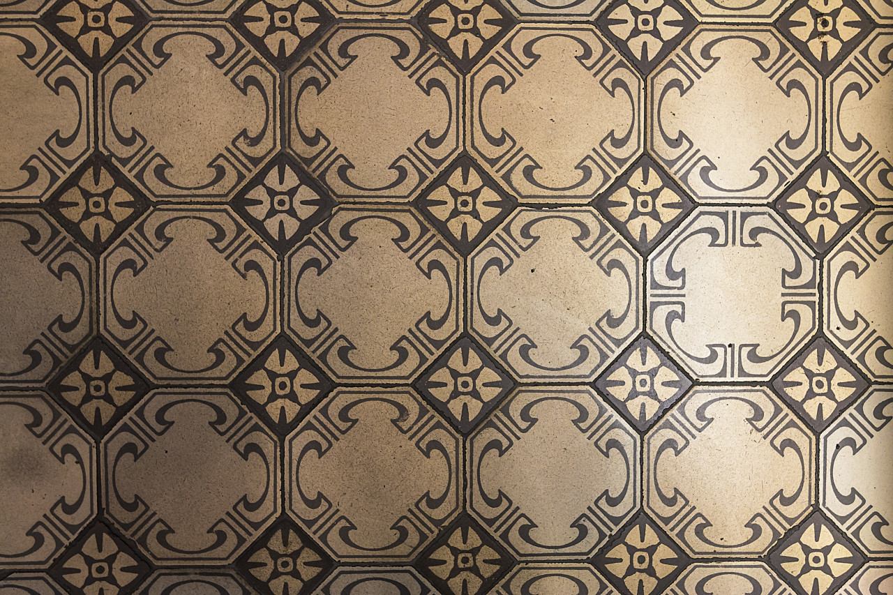 vintage floor tiles texture