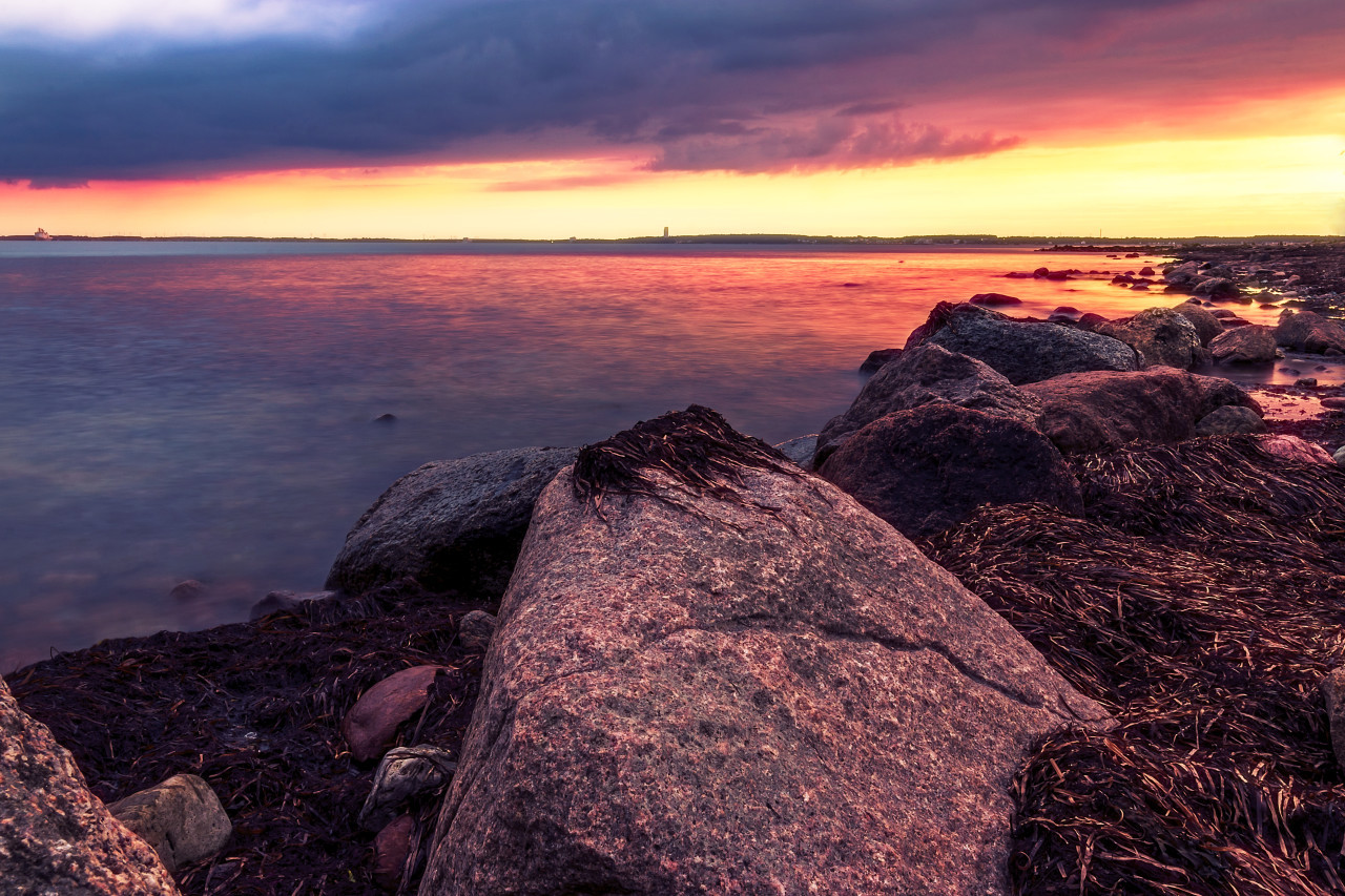 Rocks in the baltic sea
