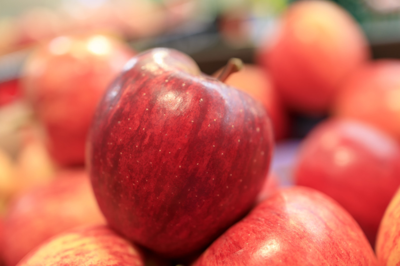Red Apples from the market