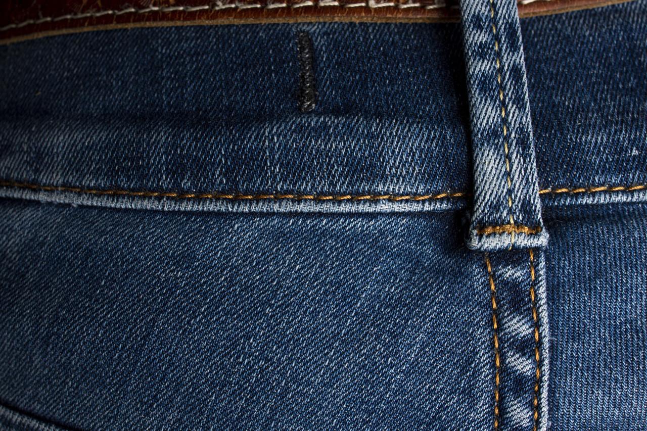 Blue jeans denim background texture