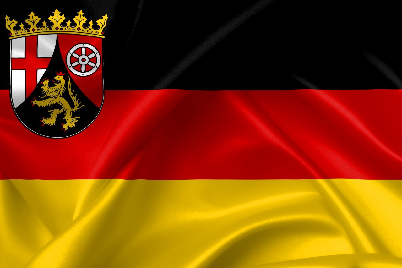 flag of rhineland palatinate