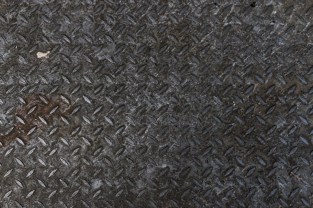 dirty metal floor texture background