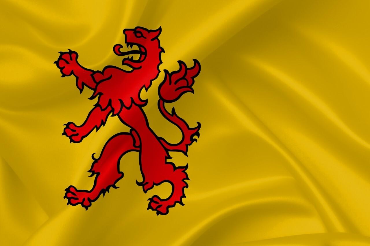 Flag of South Holland, Netherlands
