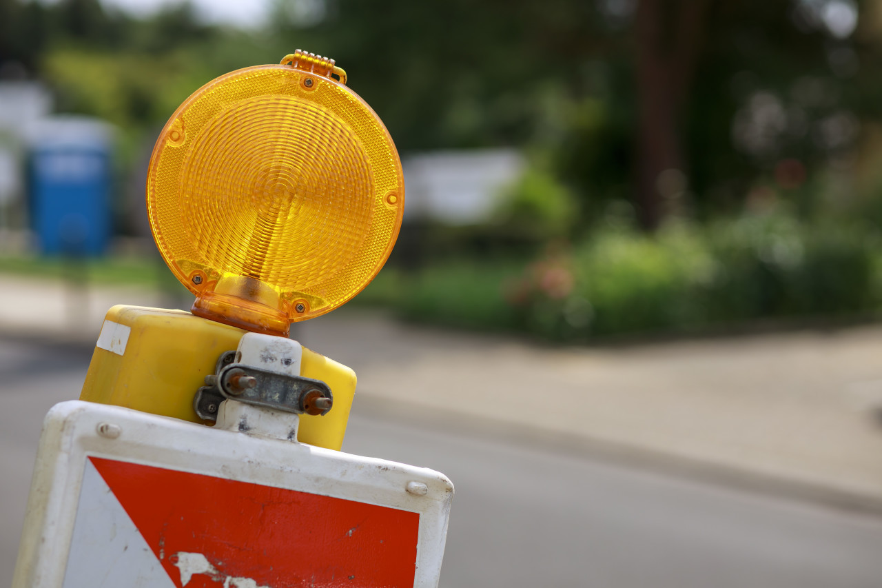 Road Warning Lamp or Barricade Light