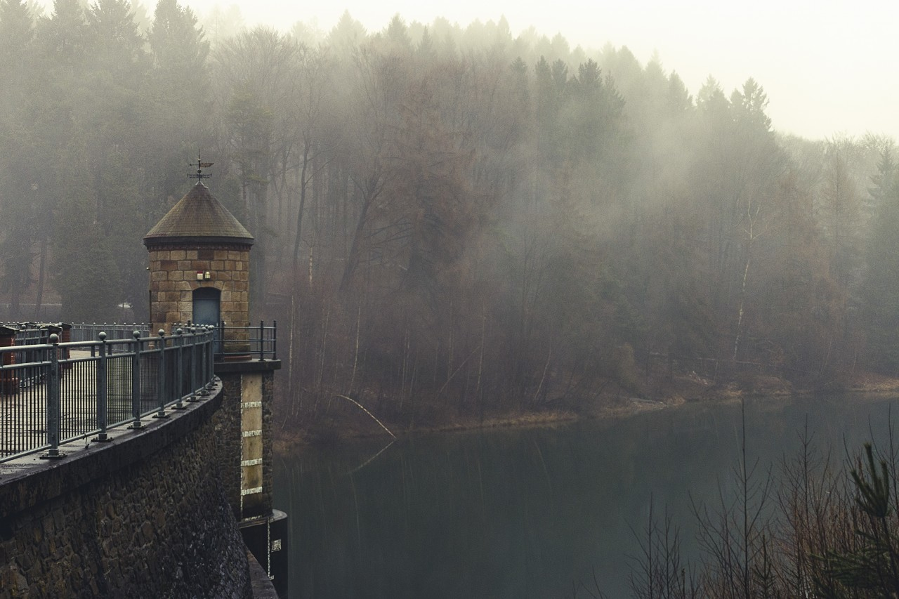 Wuppertal Ronsdorf Talsperre Dam