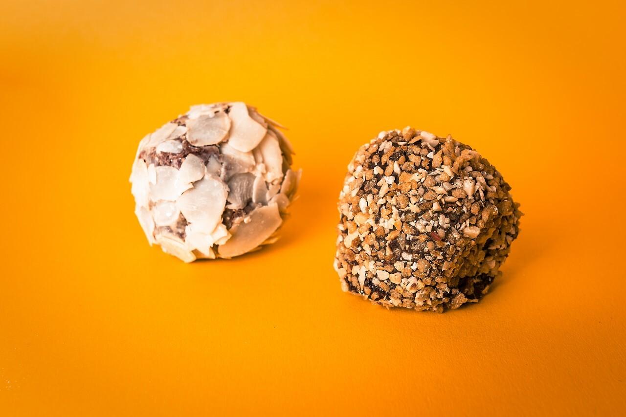 hazelnut and almond pralines