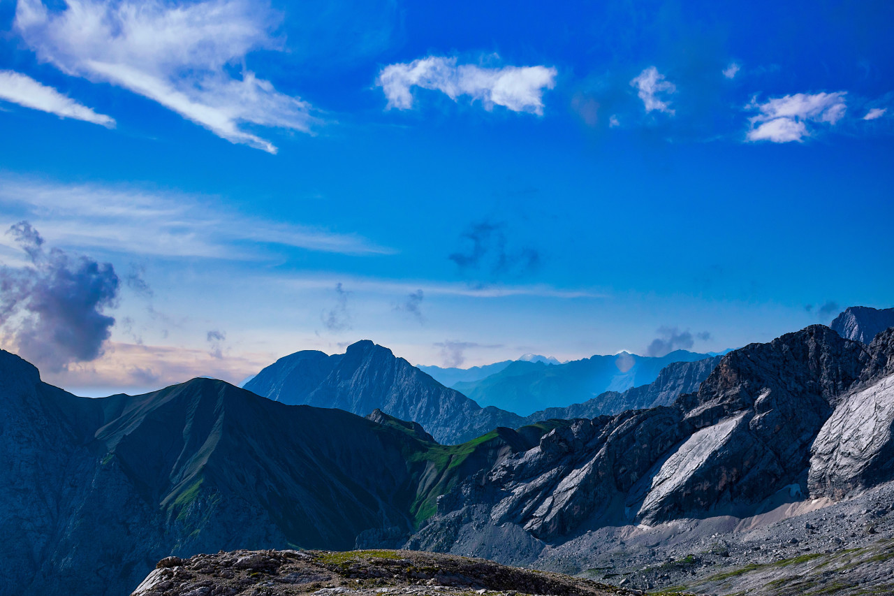 The beautiful Alps mountains