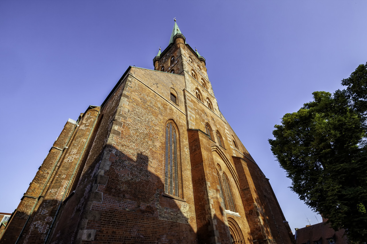 St. Peter's Church in Lübeck Germany