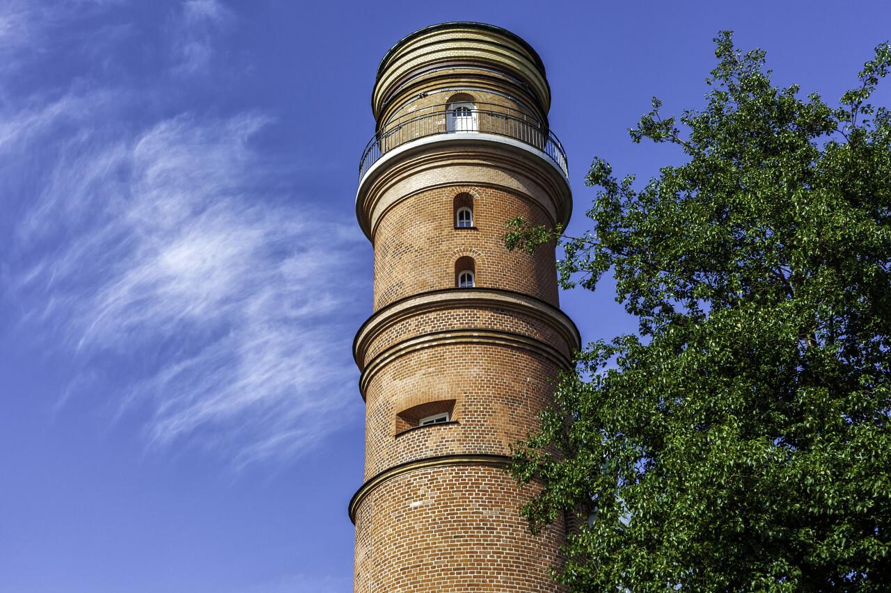 Old Lighthouse in Travemünde Lübeck