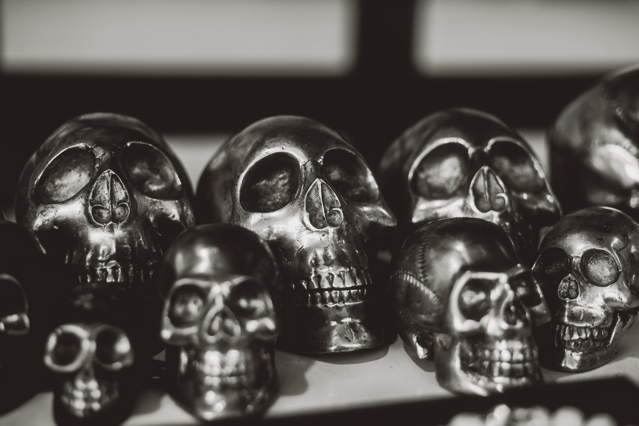 heavy metal skulls