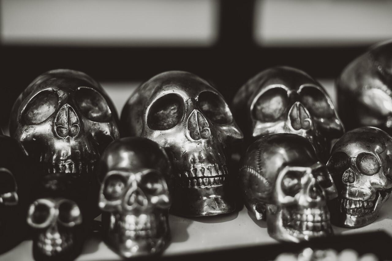 heavy metal skulls