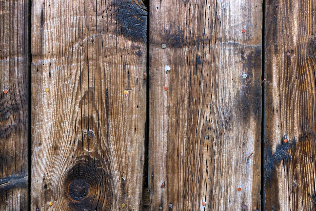 Wooden background, Wood texture. Rustic weathered surface