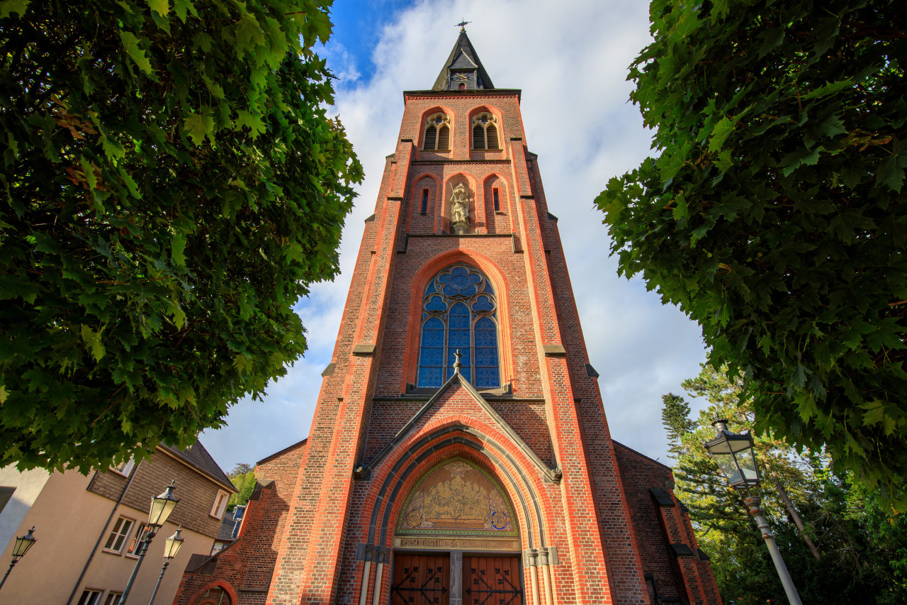 St. Michael Church in Velbert Langenberg front view