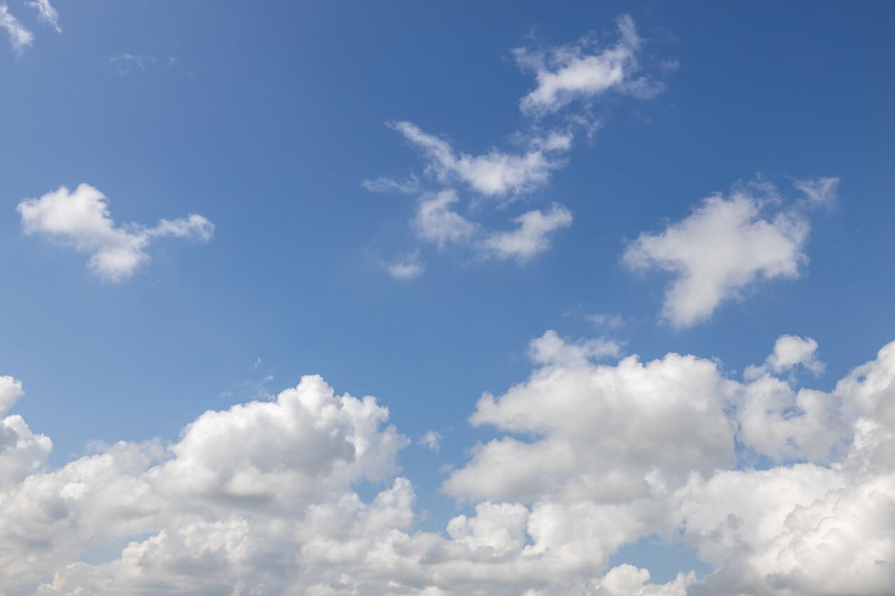 High Resolution Sky Background