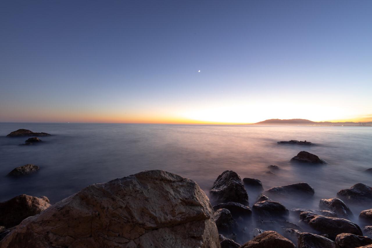 Seascape in Spain