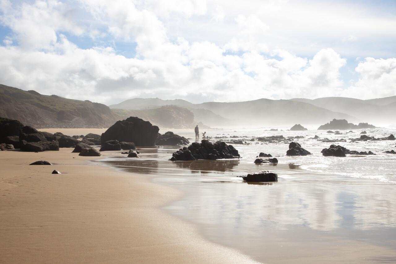 Faro dream beach landscape