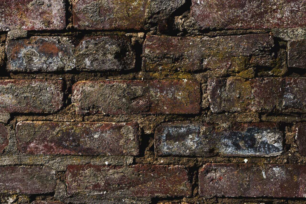 old grunge brick wall texture background