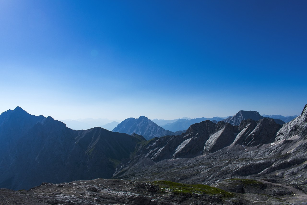 Zugspitze and the alps