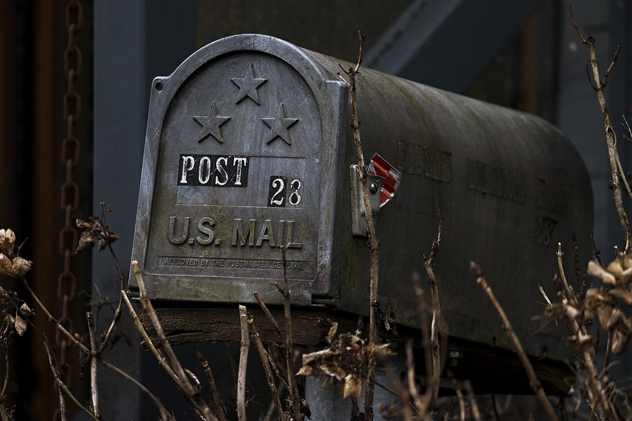 post us mail vintage