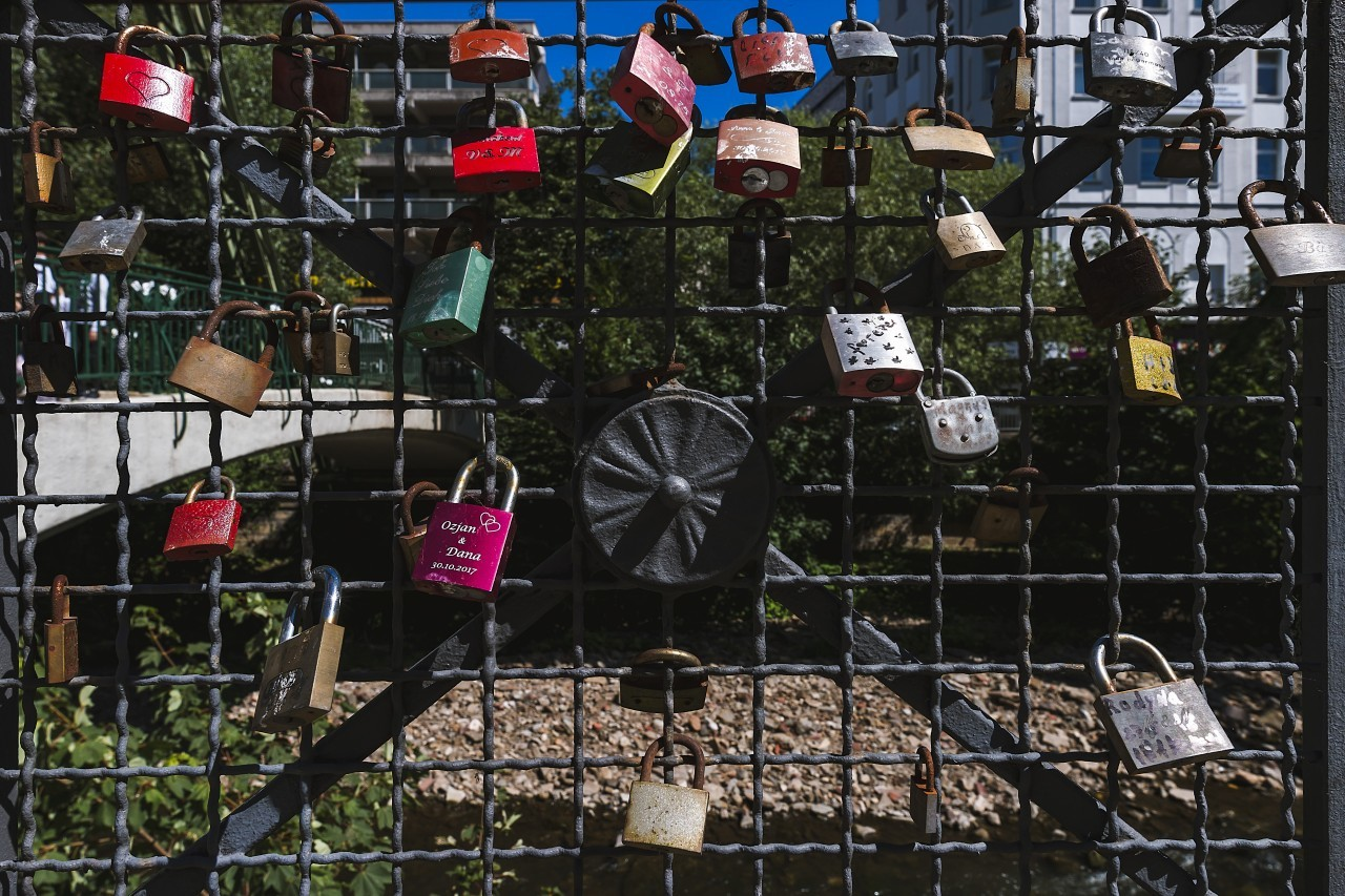 Huge amount of love Padlocks