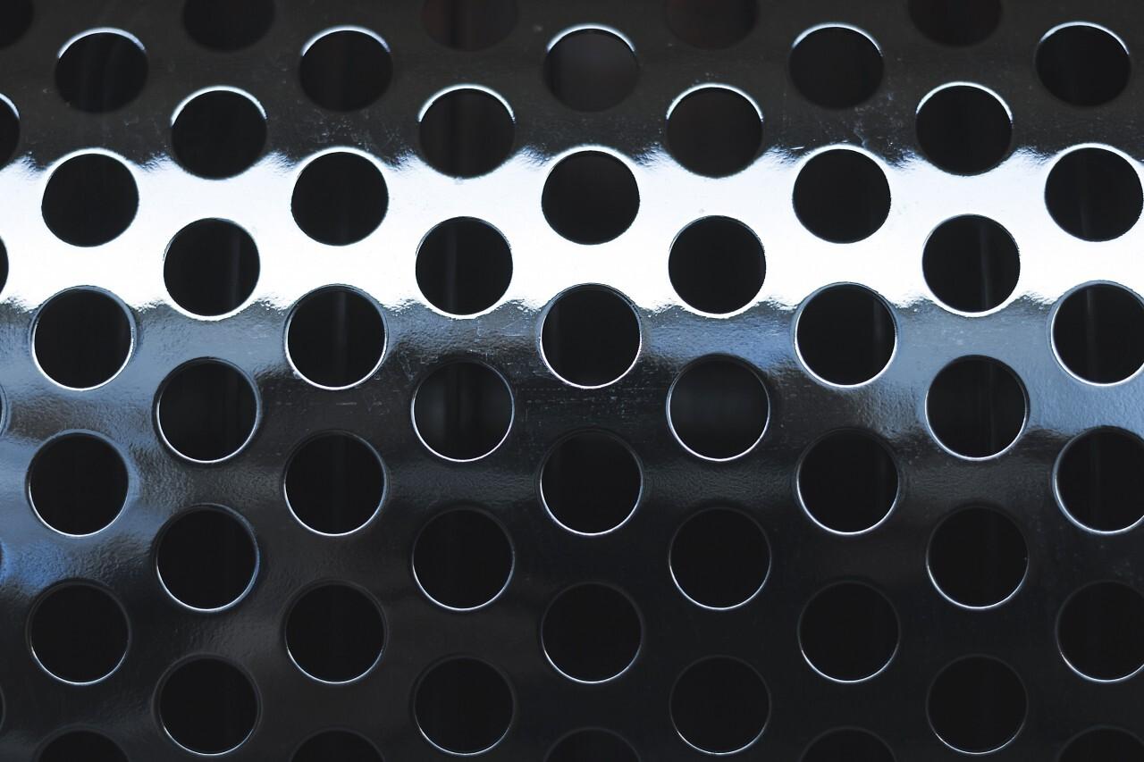 aluminum holes