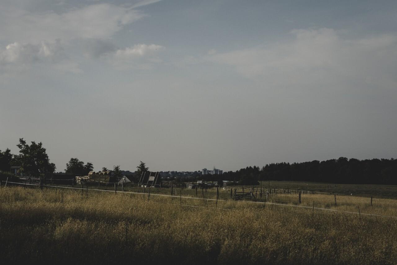 bad mood rural landscape