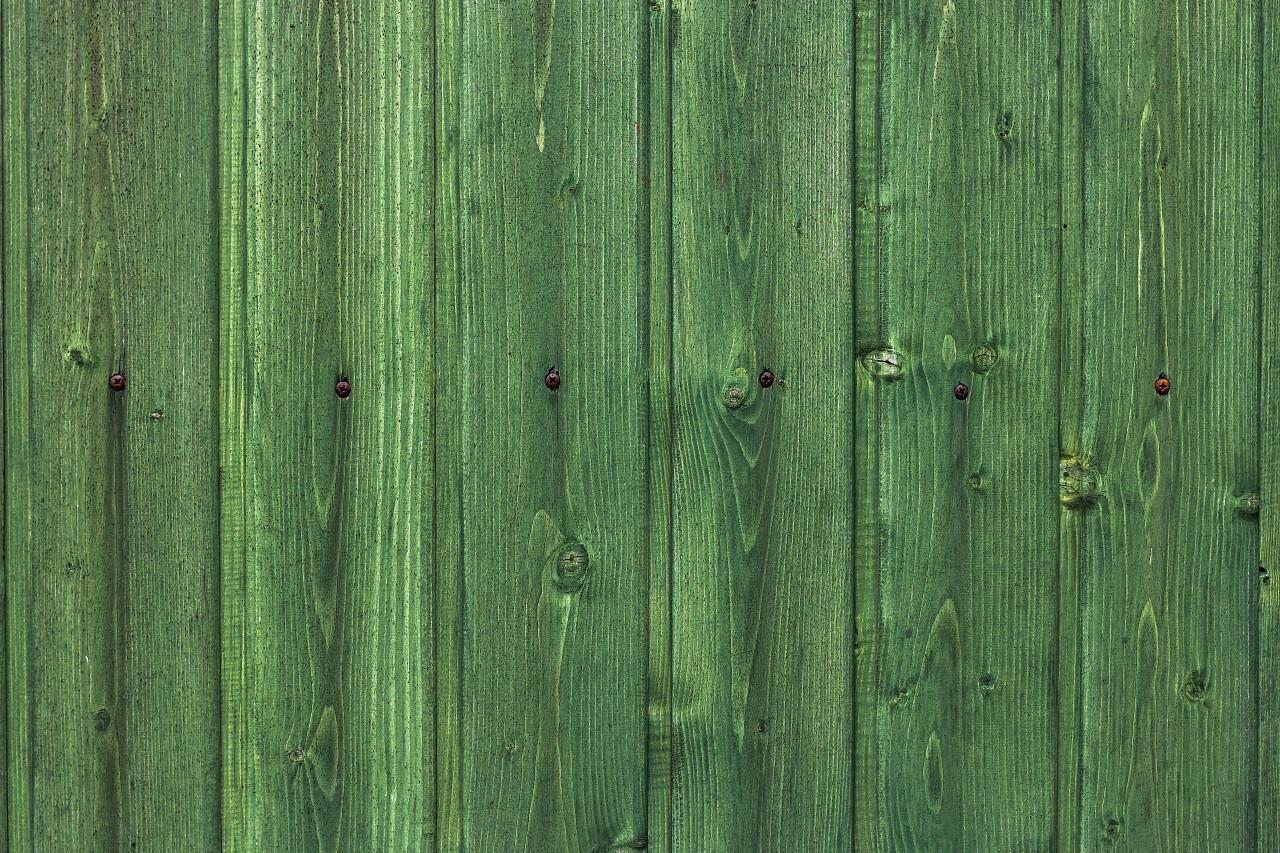 green wood plank texture