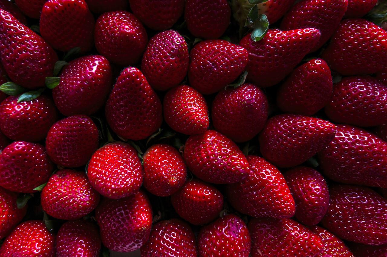 strawberry texture background