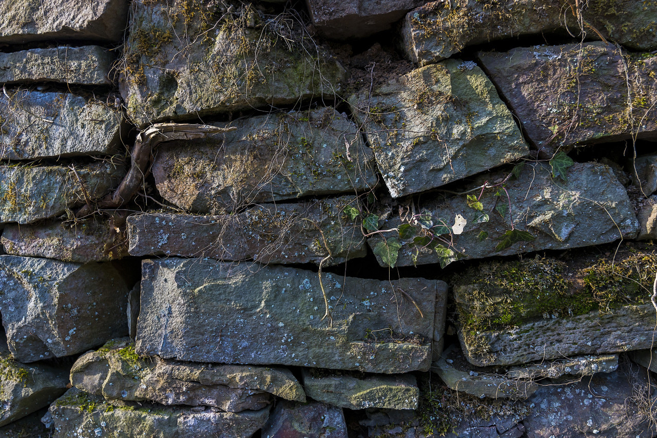 big old stone wall texture