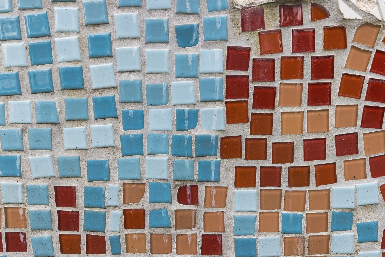 colorful mosaic texture background