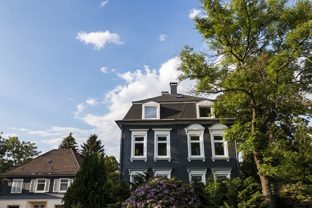 beautiful old estate in wuppertal