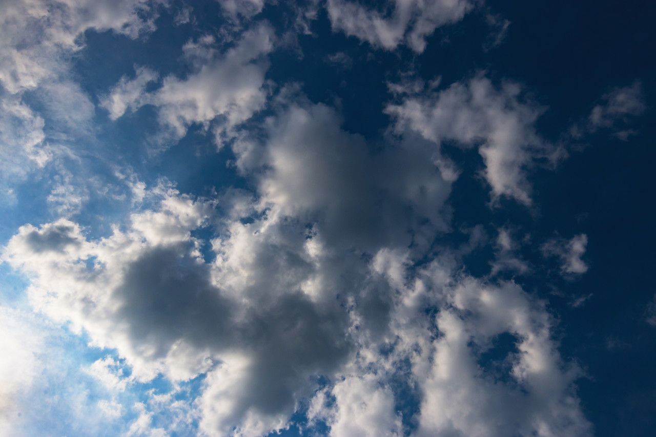 beautiful clouds sky