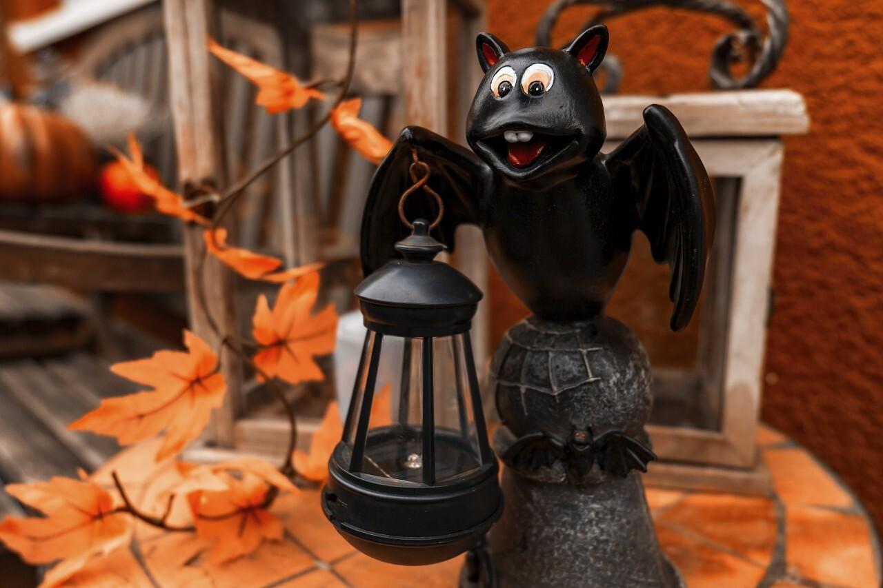 halloween bat lantern