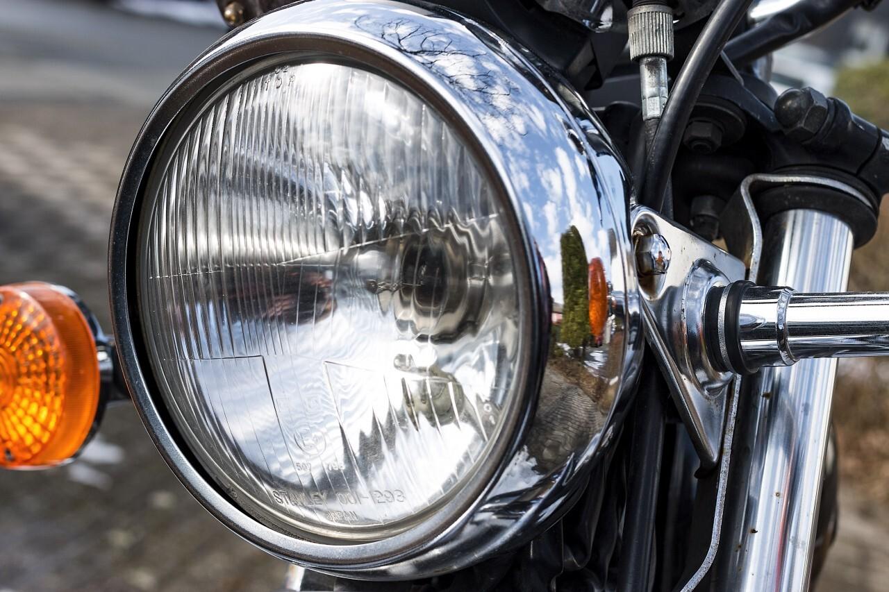 motorbike headlight