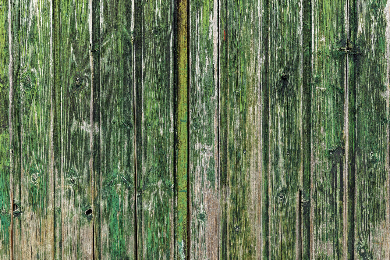beautiful grunge green wood plank texture background