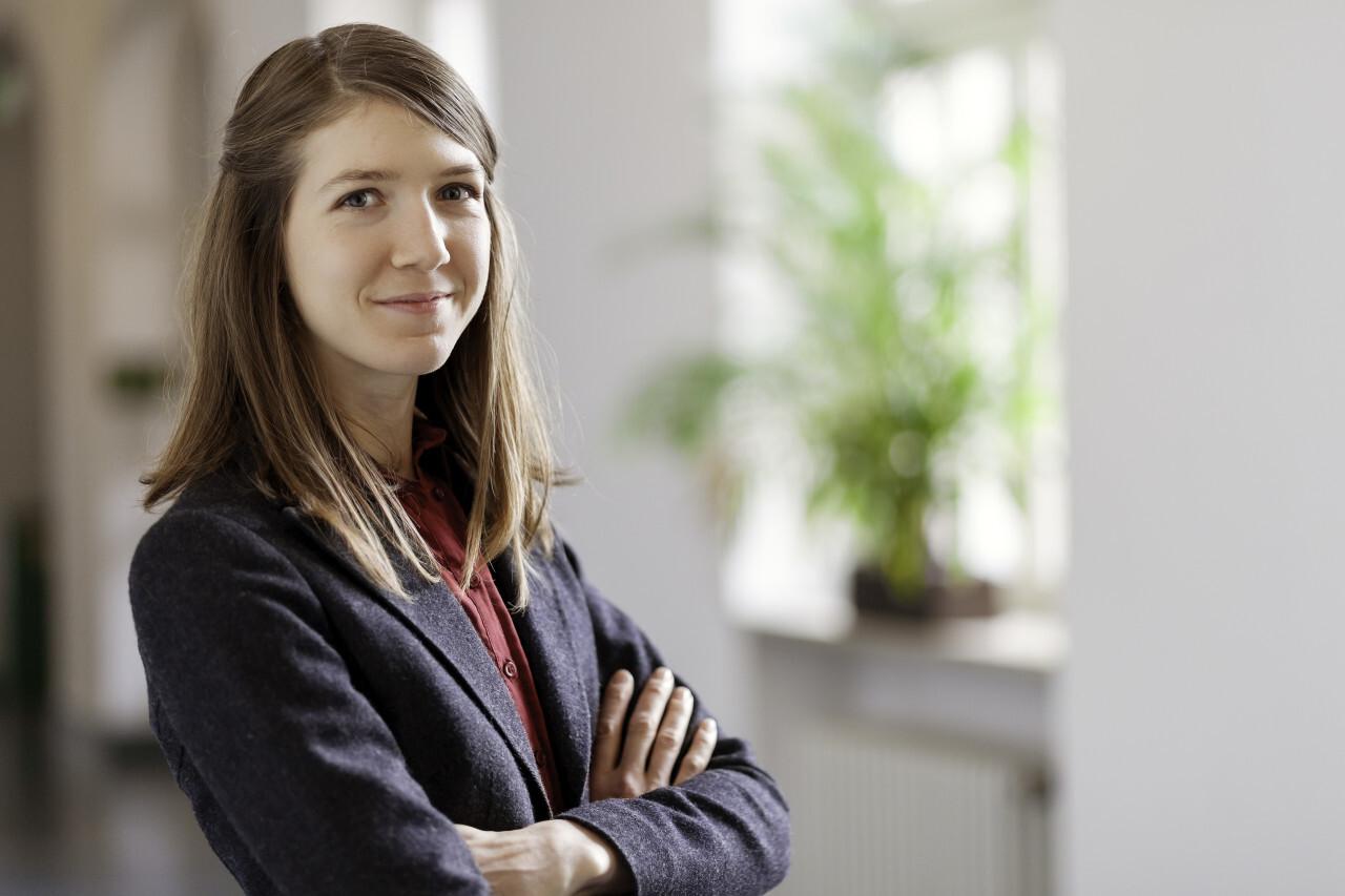 Smart, intelligent, friendly, likable portrait of an executive business woman manager, advisor, agent, representative