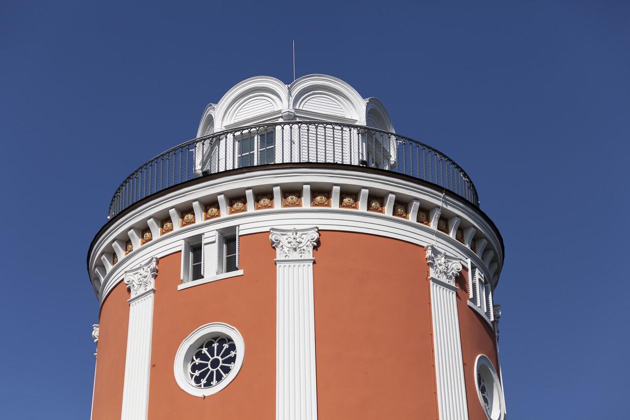 Elisenturm in Wuppertal Germany - observation tower