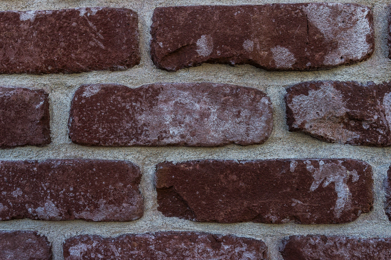 old red brickwall texture