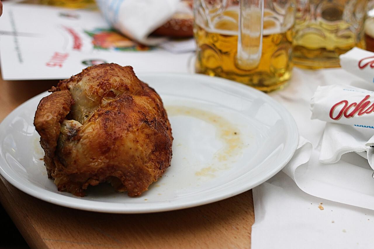 Roast Chicken Oktoberfest