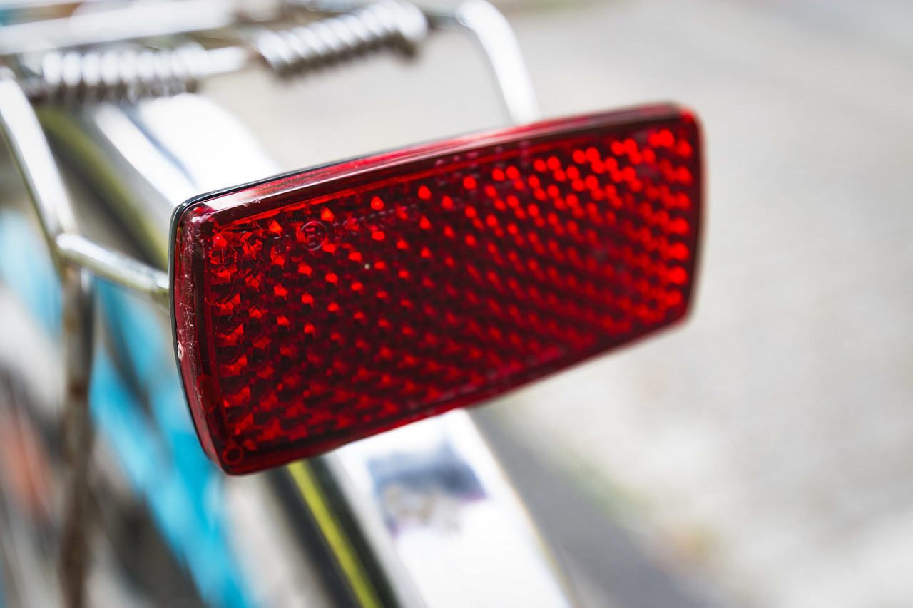 bicycle rear reflector