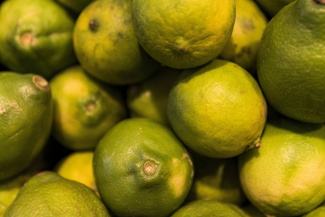 limes in a box
